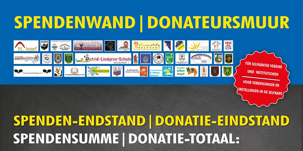 Spendenwandaktion